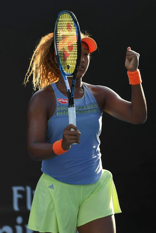 NAOMI OSAKA at Australian Open Tennis Tournament in Melbourne 01/18/2018