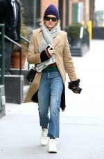 NAOMI WATTS Out and About in New York 01/19/2018