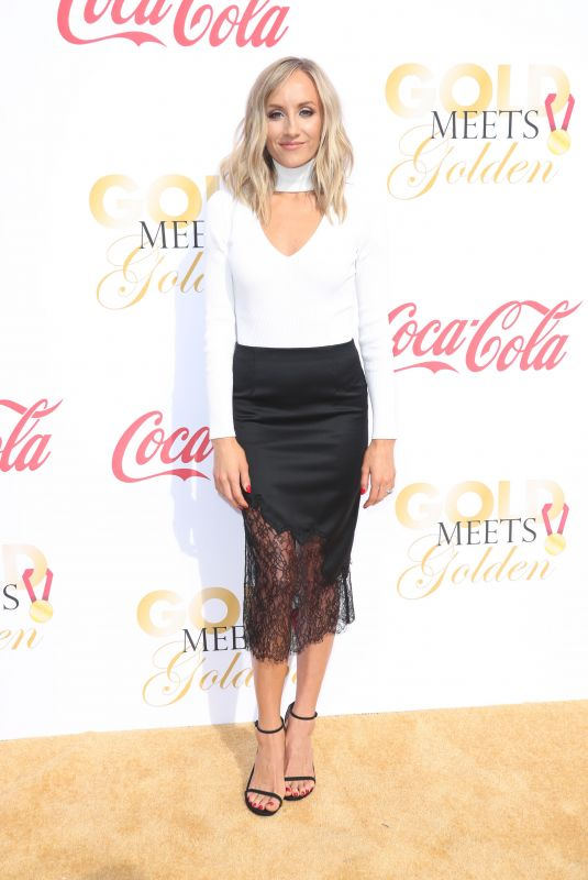NASTIA LIUKIN at 5th Annual Gold Meets Golden in Los Angeles 01/06/2018