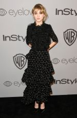 NATALIA DYER at Instyle and Warner Bros Golden Globes After-party in Los Angeles 01/07/2018