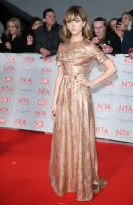 NATALIA DYER at National Television Awards in London 01/23/2018