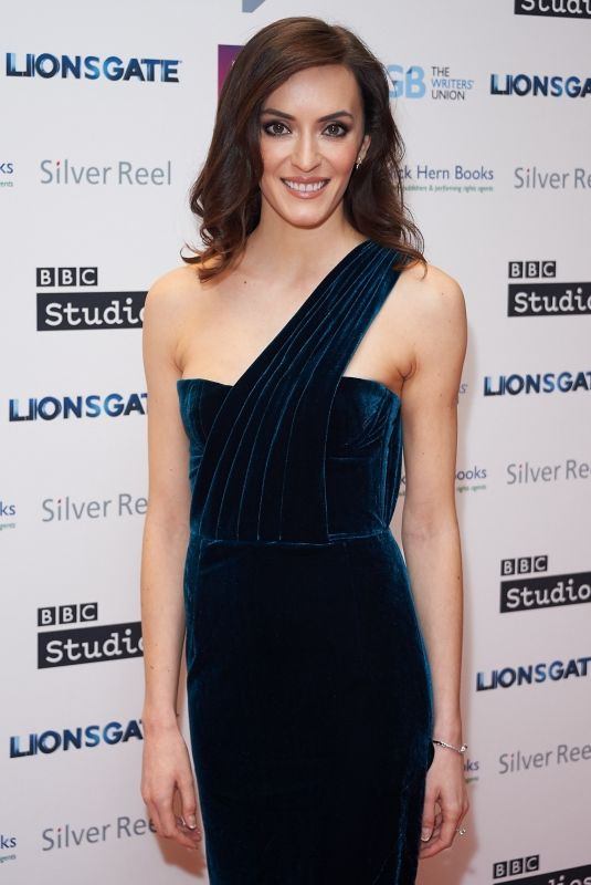NATALIE CUTLER at Writers Guild Awards at Royal College of Physicians in London 01/15/2018