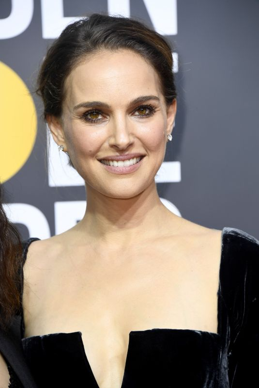 NATALIE PORTMAN at 75th Annual Golden Globe Awards in Beverly Hills 01/07/2018