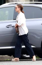 NATALIE PORTMAN Out Shopping in Los Angeles 01/16/2018