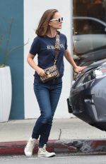 NATALIE PORTMAN Out for Lunch in Los Angeles 01/15/2018