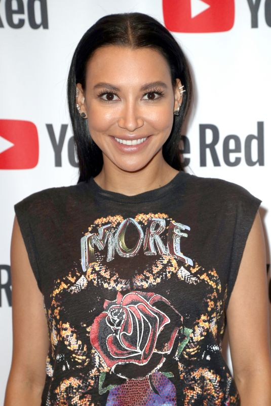 NAYA RIVERA at youtube Portion of 2018 Winter TCA Press Tour in Pasadena 01/13/208