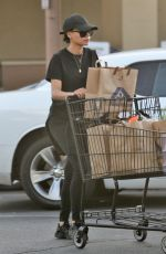 NAYA RIVERA Out for Grocery Shopping in Los Angeles 01/17/2018