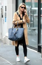 NICKY HILTON Out and About in New York 01/23/2018