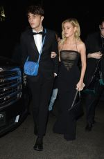 NICOLA PELTZ Arrives at Instyle and Warner Bros Golden Globes After-party in Los Angeles 01/07/2018