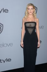 NICOLA PELTZ at Instyle and Warner Bros Golden Globes After-party in Los Angeles 01/07/2018