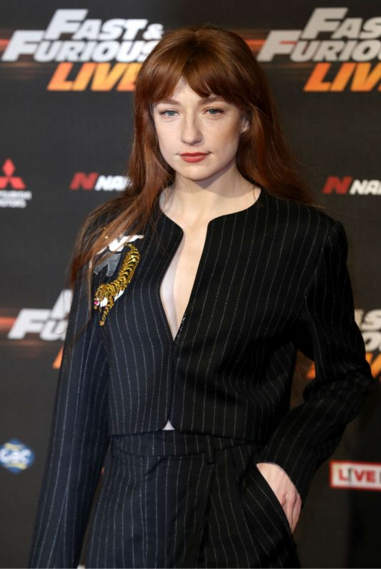 NICOLA ROBERTS at Fast and Furious Live at O2 Arena in London 01/19/2018