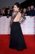NICOLA THORPE at National Television Awards in London 01/23/2018