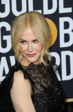 NICOLE KIDMAN at 75th Annual Golden Globe Awards in Beverly Hills 01/07/2018