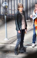 NICOLE KIDMAN on the Set of The Destroyer in Los Angeles 01/16/2018