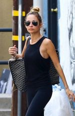 NICOLE RICHIE Leaves Tracy Anderson Studio in Los Angeles 01/16/2018