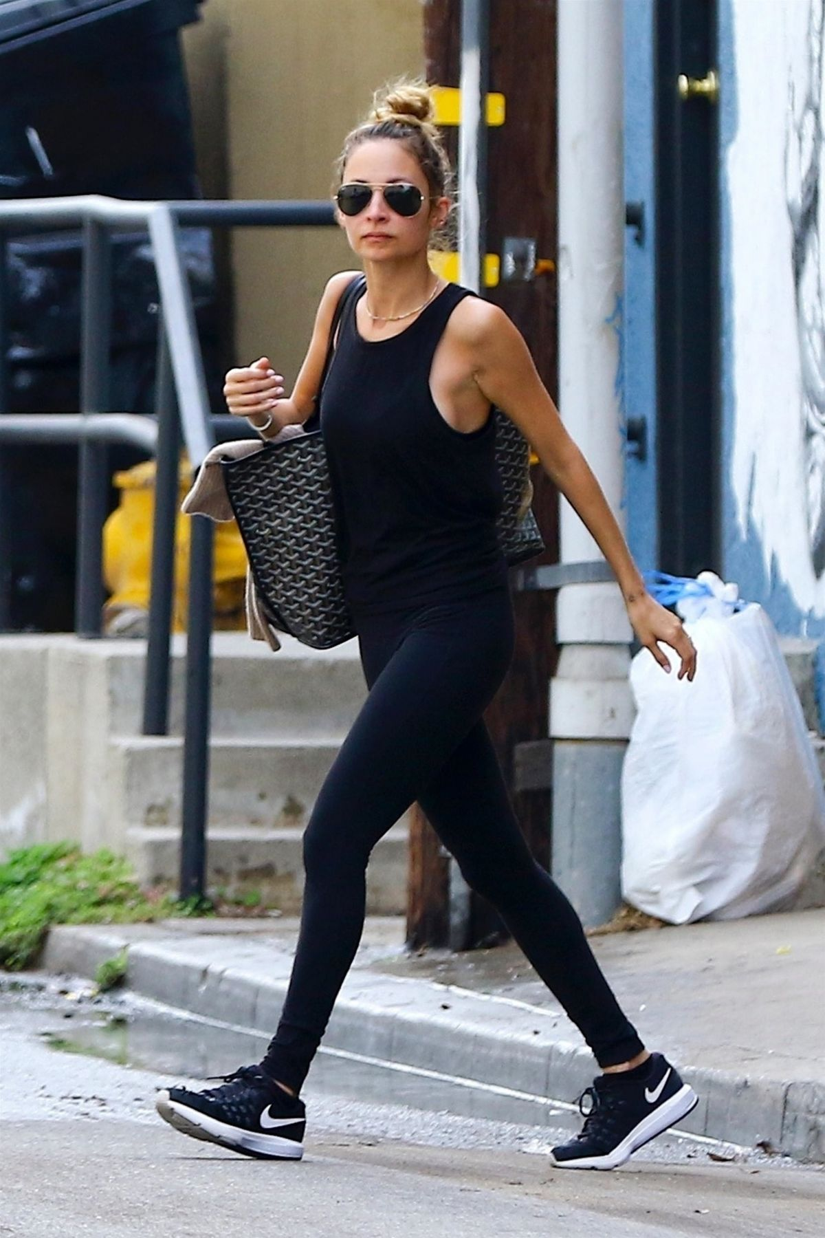 Nicole Richie Leaves Tracy Anderson Studio In Los Angeles 01 16 2018