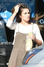 NIKKI REED Out for a Snack in Los Angeles 01/17/2018