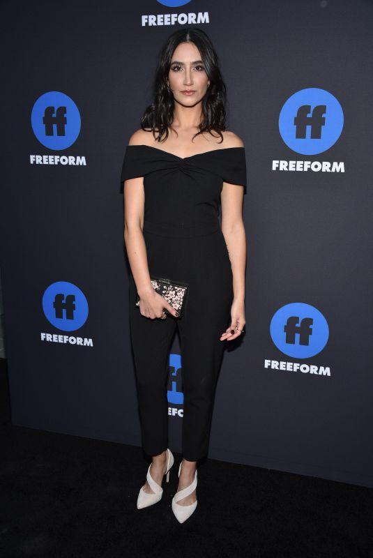 NIKOHL BOOSHERI at 2018 Freeform Summit in Hollywood 01/18/2018