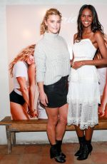 NINA AGDALat Aeriereal Role Models Dinner Party in New York 01/25/2018