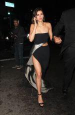 NINA DOBREV Arrives at Instyle and Warner Bros Golden Globes After-party in Los Angeles 01/07/2018