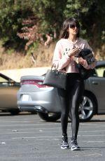 NINA DOBREV Heading to a Gym in West Hollywood 01/27/2018