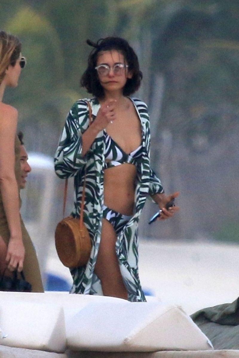 Nina dobrev bikini can