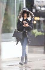 NINA DOBREV on Her 29th Birthday Heading to Drybar in Los Angeles 01/09/2018