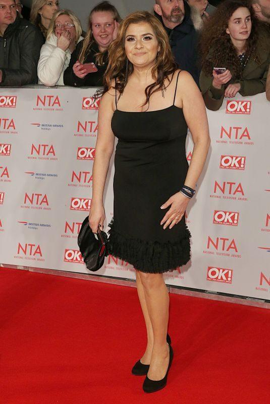 NINA WADIA at National Television Awards in London 01/23/2018