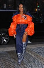 NORMANI KORDEI Arrives at Sony Building in New York 01/26/2018