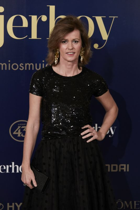 NURIA MARCH at 9th Annual Mujer Hoy Awards in Madrid 01/30/2018