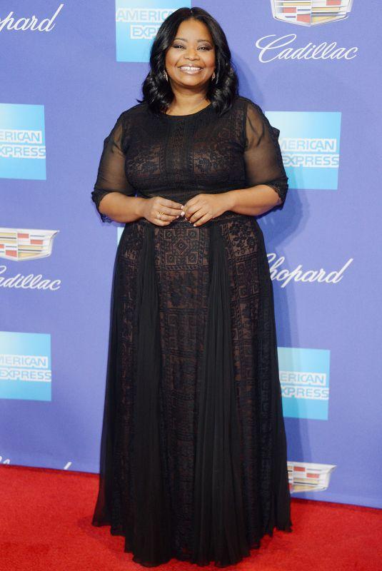 OCTAVIA SPENCER at 29th Annual Palm Springs International Film Festival Awards Gala 01/02/2018