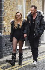 OLA JORDAN Heading to Dance Studio in London 01/12/2018