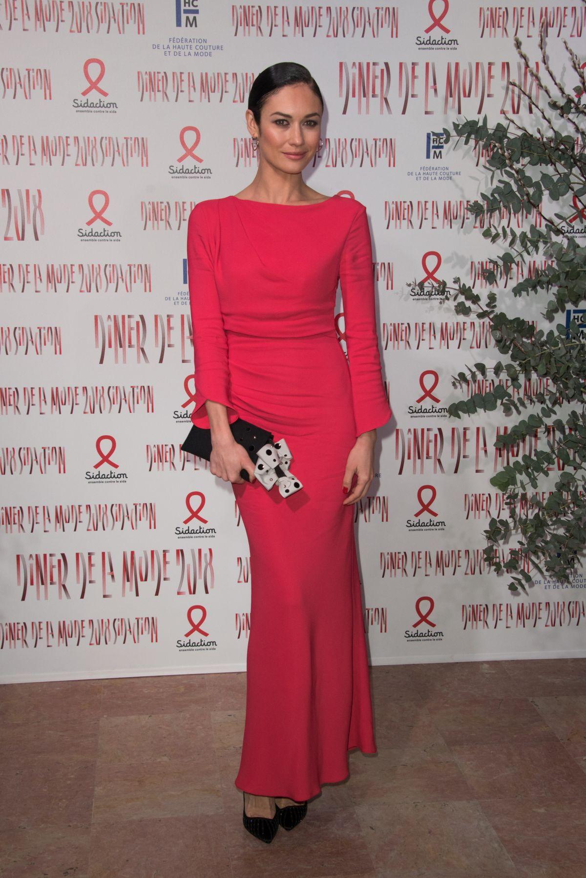 Olga Kurylenko At Sidaction Gala dinner, Haute Couture