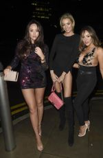 OLIVIA AATWOOD, CHARLOTTE CROSBY and SOPHIE KASAEI Celebrates New Year in Manchester 12/31/2017