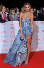 OLIVIA ATTWOOD at National Television Awards in London 01/23/2018