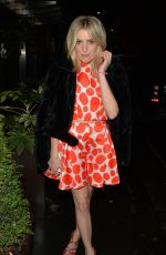 OLIVIA COX Night Out in Mayfair in London 01/01/2018