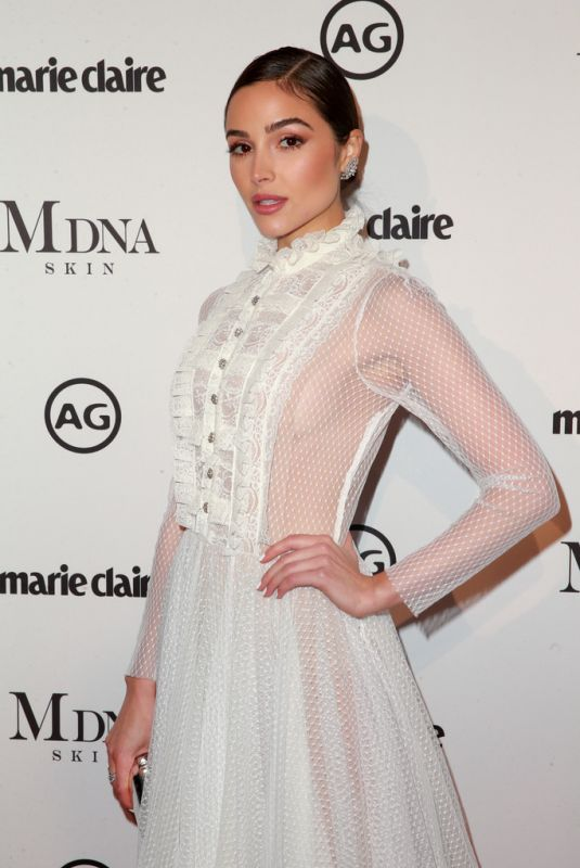 OLIVIA CULPO at Marie Claire Image Makers Awards in Los Angeles 01/11/2018