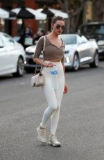 OLIVIA CULPO Leaves Kate Somerville Spa in West Hollywood 01/10/2018