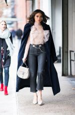 OLIVIA CULPO Out and About in New York 01/30/2018