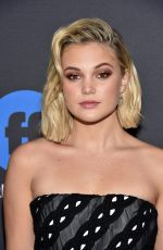OLIVIA HOLT at 2018 Freeform Summit in Hollywood 01/18/2018