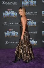 OLIVIA HOLT at Black Panther Premiere in Hollywood 01/29/2018