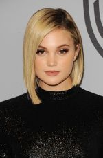 OLIVIA HOLT at Instyle and Warner Bros Golden Globes After-party in Los Angeles 01/07/2018