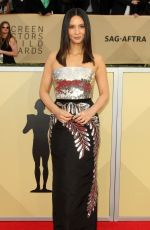 OLIVIA MUNN at Screen Actors Guild Awards 2018 in Los Angeles 01/21/2018