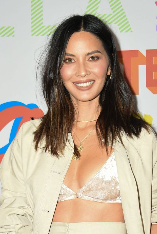 OLIVIA MUNN at Stella McCartney Show in Hollywood 01/16/2018