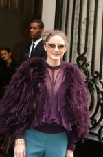 OLIVIA PALERMO at Elie Saab 2018 Haute Couture Spring/Summer Show in Paris 01/24/2018