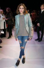 OLIVIA PALERMO at Giorgio Armani Prive Show at 2018 Haute Couture Fashion Week in Paris 01/23/2018