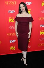 OLIVIA SANDOVAL at The Assassination of Gianni Versace: American Crime Story Premiere in Hollywood 01/08/2018