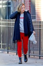 OLIVIA WILDE Out and About in New York 01/03/2018