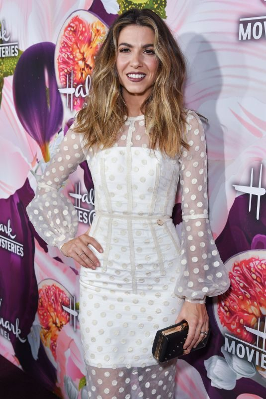 ORLY SHANI at Hallmark Channel All-star Party in Los Angeles 01/13/2018