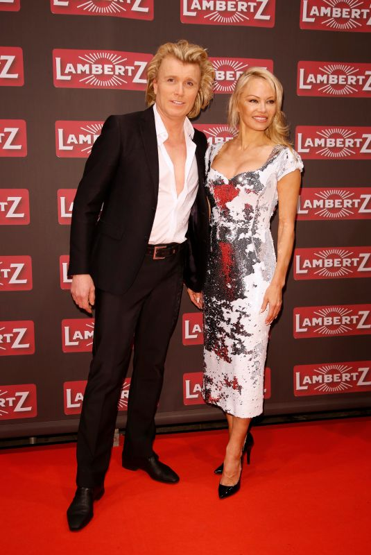 PAMELA ANDERSON at Lambertz Monday Night in Cologne 01/29/2018